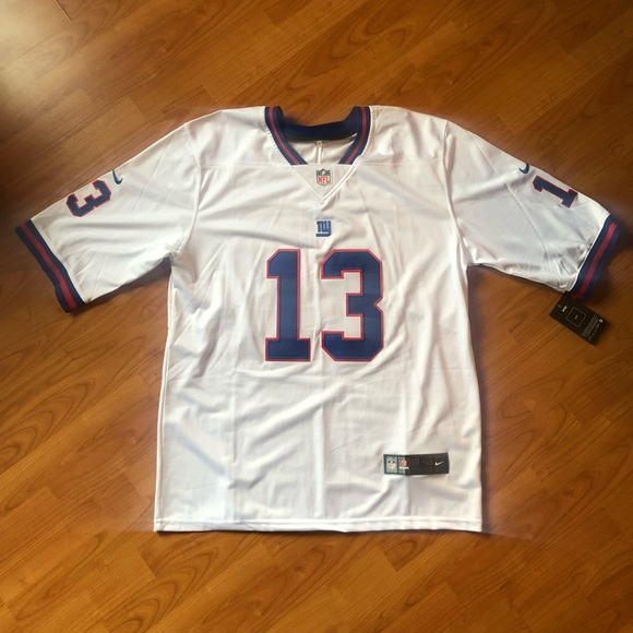 promo code 9db9f 62ff1 Odell Beckham Jr Giants Color Rush Jersey NWT